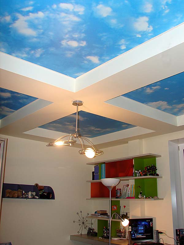 Потолки с небом