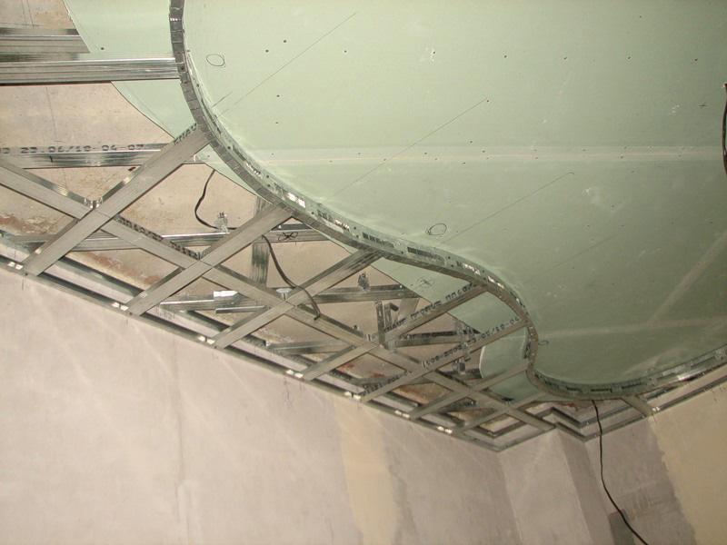 Гипсокартон монтаж стен своими руками фото
